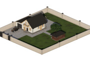 I will perform 3D modeling and visualization of buildings 12 - kwork.com
