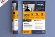 I will design professional flyer in 24 hours 4 - kwork.com