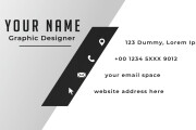 I will Design Business Card, Letterhead, Employee Card and Stationery 14 - kwork.com