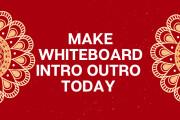 Create Whiteboard Logo Intro Outro 3 - kwork.com
