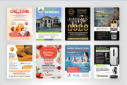 I will design a unique flyer for your business 10 - kwork.com