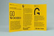I will design corporate tri-fold or bi-fold brochure for business 16 - kwork.com