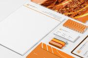 Corporate identity. Logo, business card, letterhead, favicon 5 - kwork.com