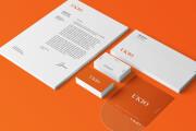 Corporate identity. Logo, business card, letterhead, favicon 4 - kwork.com