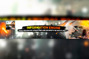 YouTube channel design, Channel banner, Channel icon 6 - kwork.com