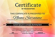I can design certificates of any kind you demand 6 - kwork.com