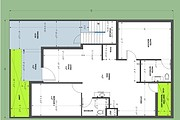 Architecture drawings, Township Layout plans, Residential Floor plans 12 - kwork.com