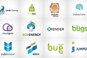 I will Do Modern Minimalist Logo design for your business 17 - kwork.com