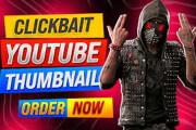 I WILL design clickbait youtube thumbnail banner social media cover 8 - kwork.com