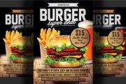 I will design professional restaurant food menu flyer In 24 hrs 7 - kwork.com