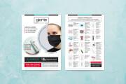 Stylish flyers and leaflets 10 - kwork.com