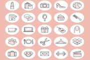 Instagram stories highlight icons design 5 - kwork.com