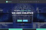 Site layout HTML, CSS, JS 5 - kwork.com