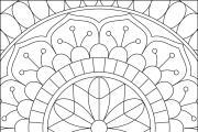 I will give you 1950 premium mandala coloring page 21 - kwork.com