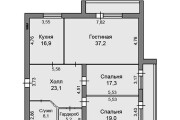 Planning solutions for apartments and houses. Layout, redevelopment 9 - kwork.com