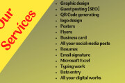 I will design every thing related to corel draw 10 - kwork.com