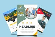 I will design business flyer and brochure in just 4 hours 15 - kwork.com