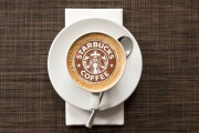 Your logo in a cup of coffee 6 - kwork.com