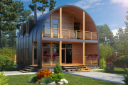 We offer 3D photorealistic rendering of your home's exterior 5 - kwork.com