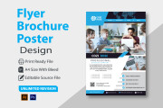 I will design a professional flyer Poster and brochure in 24 hours 17 - kwork.com