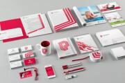 Development of corporate identity, BrendBook, packaging, comm. offers 10 - kwork.com