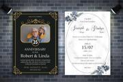 I will Design wedding, Christmas, birthday, greeting, invitation card 4 - kwork.com