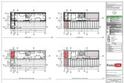 Construction Drawings for Wooden prefab House with Material List 10 - kwork.com