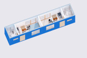 Planning solutions for construction of objects from 40 ft. containers 5 - kwork.com