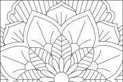 I will give you 1950 premium mandala coloring page 13 - kwork.com