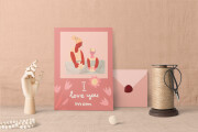 Creation of greeting cards 7 - kwork.com