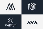 I will create your modern minimalist logo design 8 - kwork.com