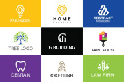 I will creative modern minimalist, luxury, unique business logo design 4 - kwork.com