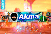 I will make a unique header for the YouTube channel+avatar 8 - kwork.com