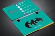 I will make design a beautiful and unique business card and logo 4 - kwork.com