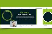 I will create fb, instagram, twitter linkedin cover and Banner design 8 - kwork.com