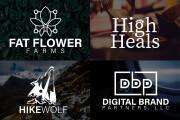 I will Do Modern Minimalist Business Logo Design 12 - kwork.com