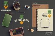 Corporate identity design 7 - kwork.com
