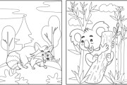 I will create a letter e number tracing activity book and cover 7 - kwork.com