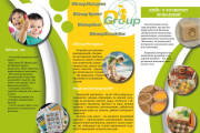 Flyer, leaflet unique design, ready-for-print 5 - kwork.com