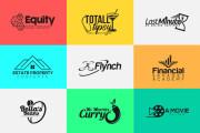 I will design a clean minimalist and modern business logo design 6 - kwork.com