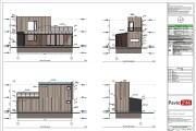 Construction Drawings for Wooden prefab House with Material List 11 - kwork.com