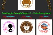 Development and design of the wonderful logos 6 - kwork.com