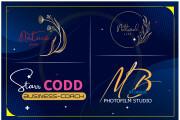 Will create a stylish and stunning hand drawn signature logo 6 - kwork.com