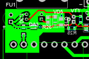 Development of an electrical schematic, printed circuit board 4 - kwork.com