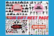I will provide cut disney svg files 30k design bundle for etsy pod 4 - kwork.com