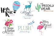 I will Do Modern Minimalist Logo design for your business 18 - kwork.com