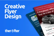 I will design a unique flyer for your business 11 - kwork.com