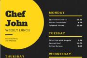 I will do amazing restaurant food menu design 13 - kwork.com