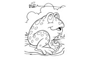 I will give +550 animal coloring pages for kids 8 - kwork.com