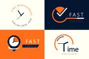 I will do minimalist modern logo design 10 - kwork.com